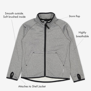 Kids Tech Stretch Fleece Jacket