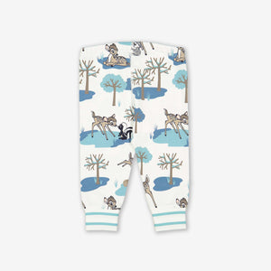 Bambi Print Baby Trousers