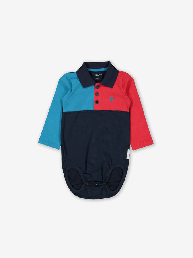 Polo Baby Bodysuit