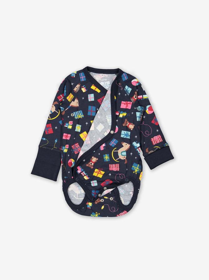 Presents & Toys Wraparound Baby Bodysuit