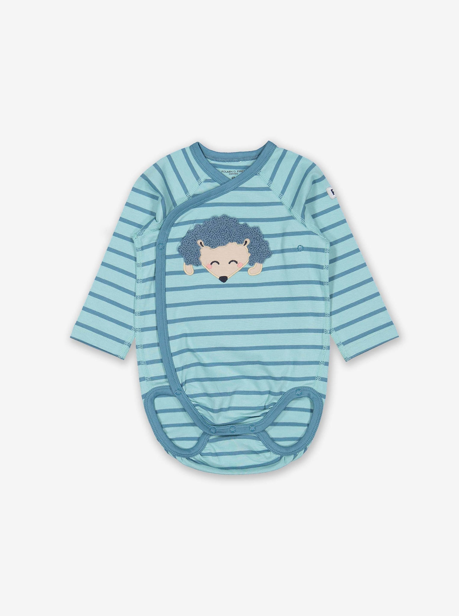 Hedgehog Wraparound Baby Bodysuit