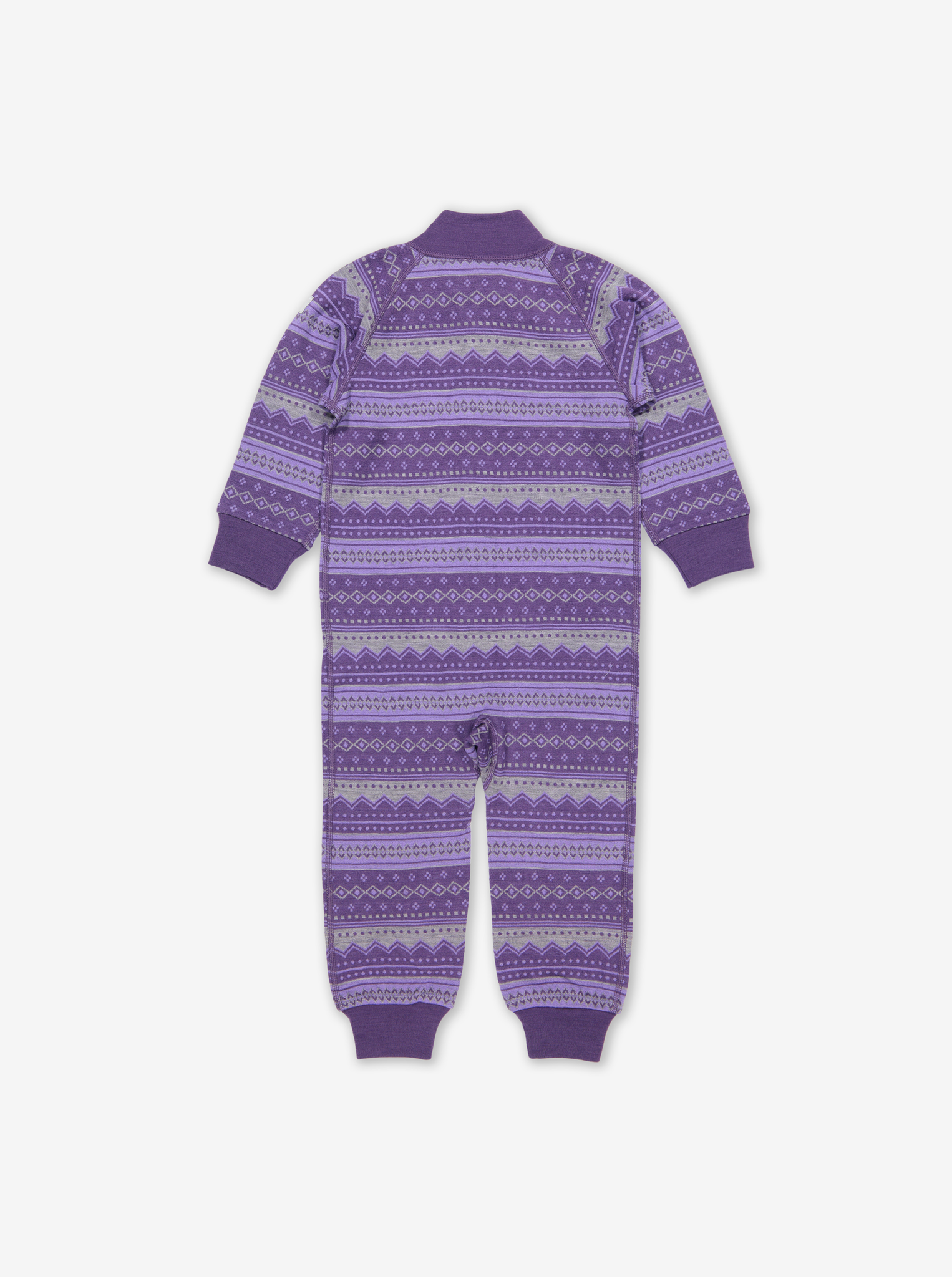 Fairisle Thermal Merino Baby All-In-One