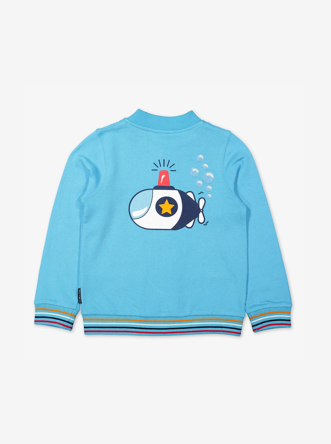 Submarine Print Kids Jacket