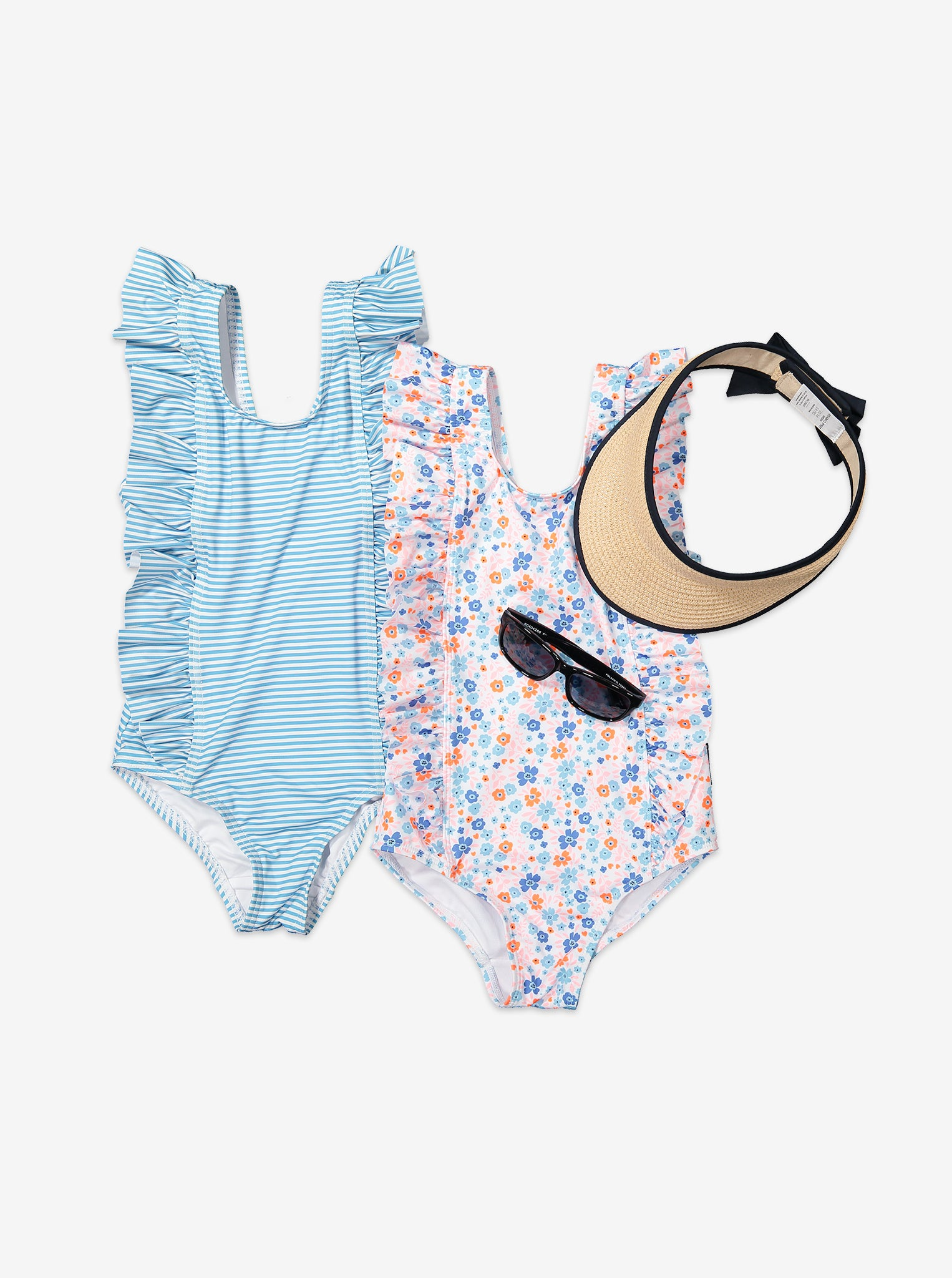 Nautical Stripe Kids Swimsuit