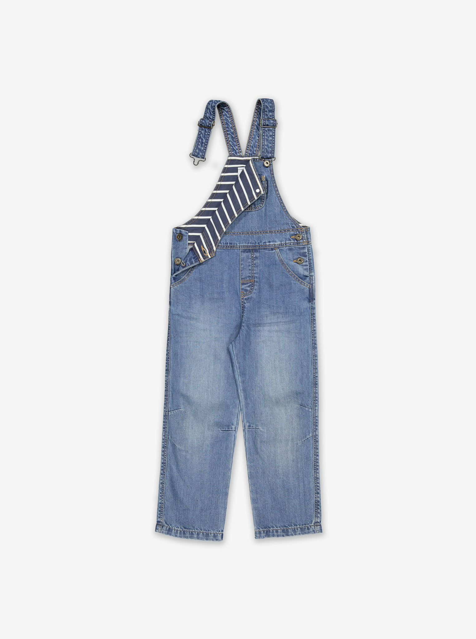 Kids Denim Dungarees