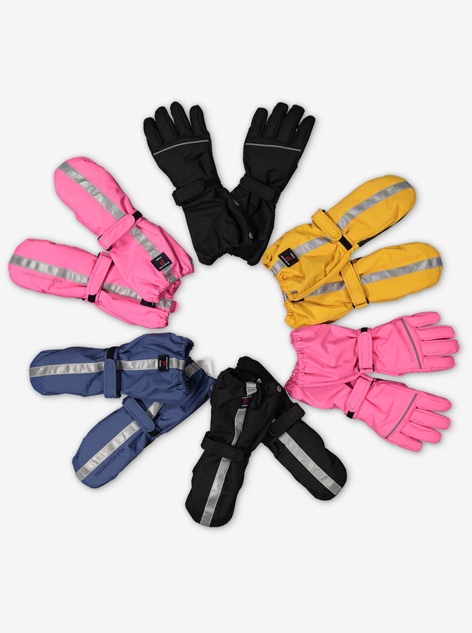 Padded Kids Ski Gloves