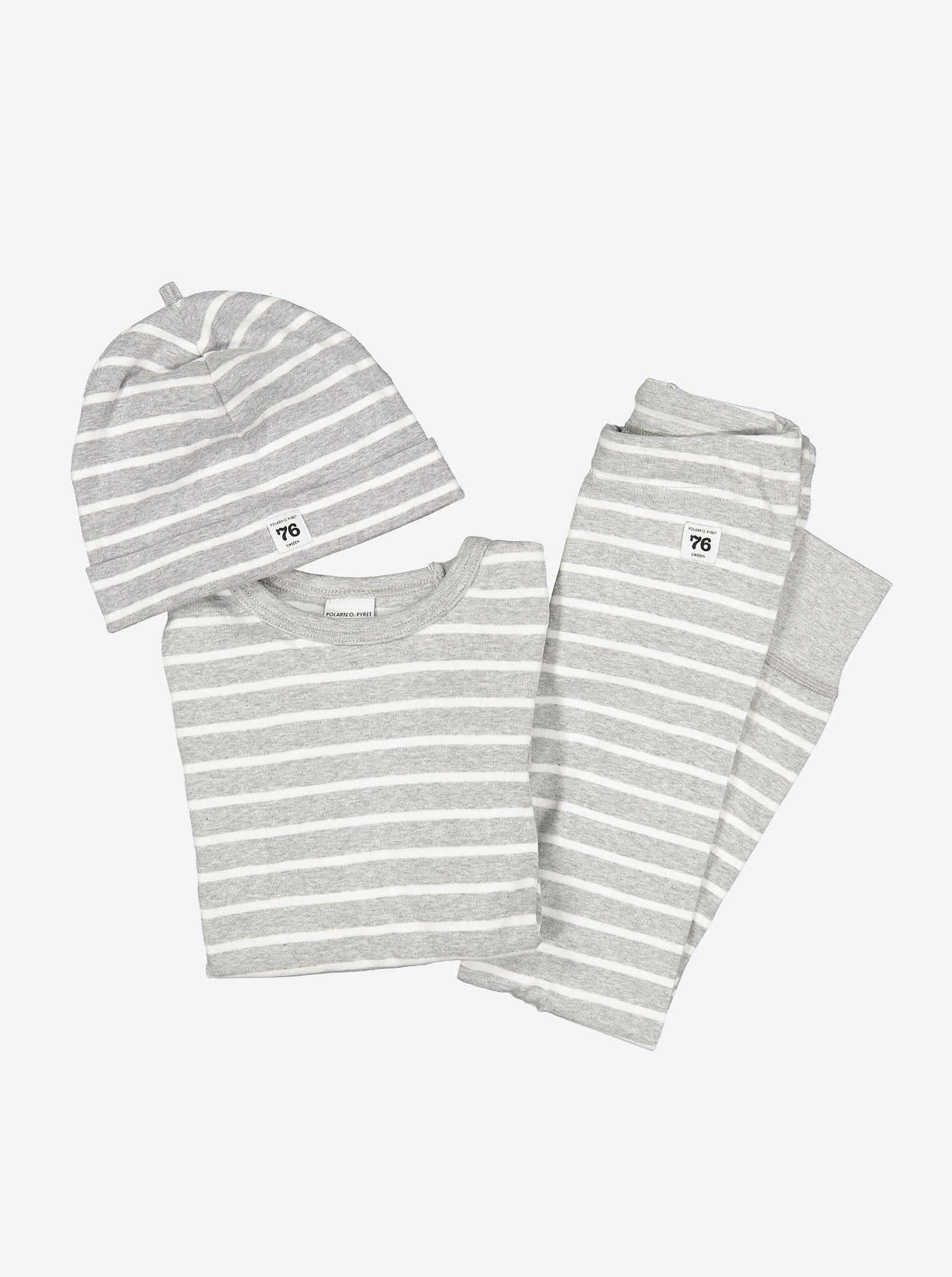 PO.P Stripe Kids Top