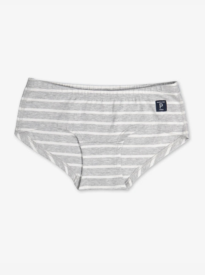 PO.P Stripe Girls Hipster Briefs