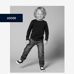 Loose Fit Kids Jogger Jeans