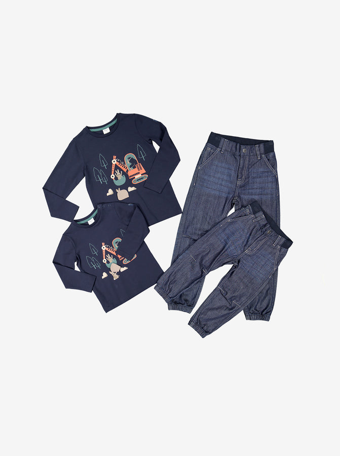 Loose Fit Baby Jeans