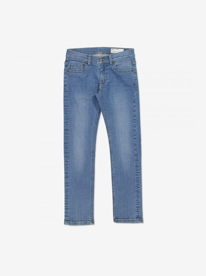 Kids Slim Fit Light Denim Jeans
