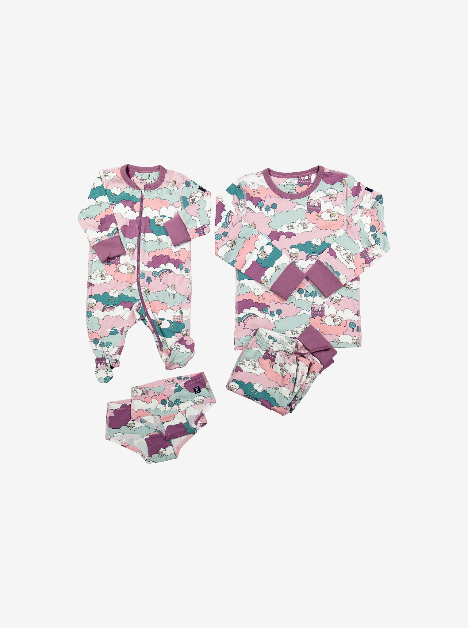 Sleepy Sheep Kids Onesie Pyjamas