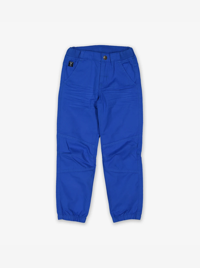 Cuffed Organic Cotton Kids Trousers