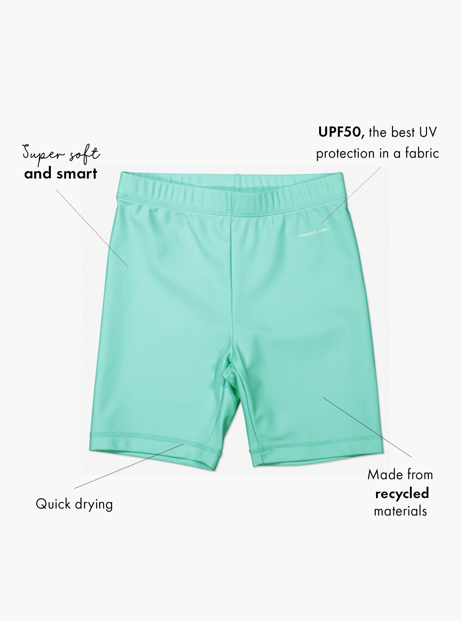 UPF 50 Kids Swim Shorts