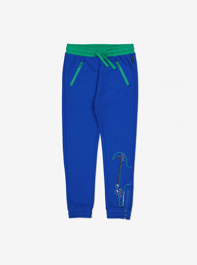 Crocodile Print Kids Sweatpants