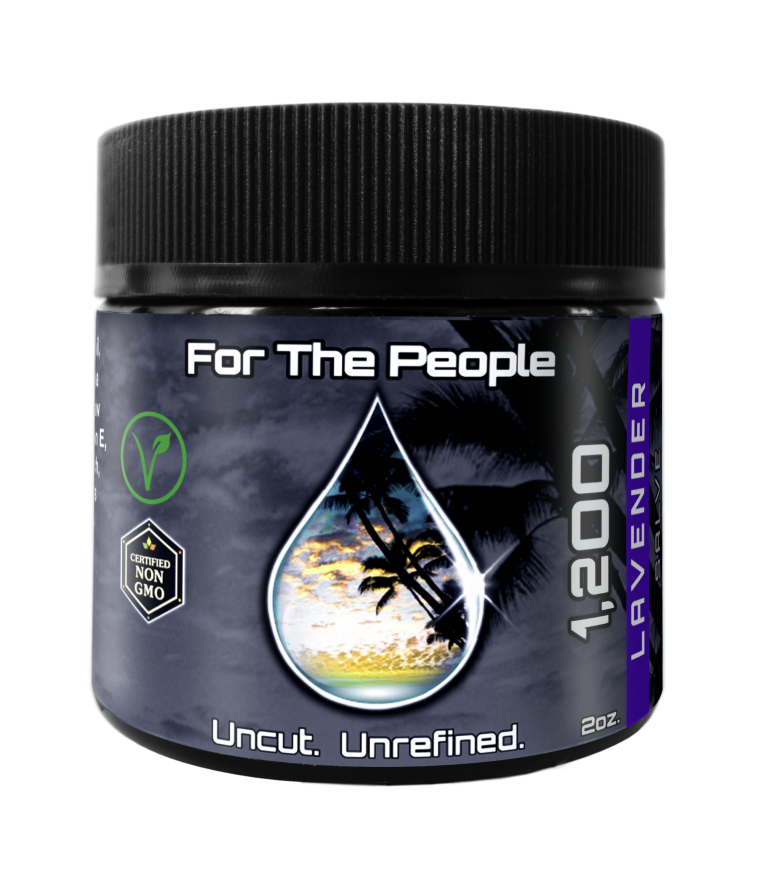 CBD FOR THE PEOPLE - Dark Unrefined Salve | Topical - 1,200mg