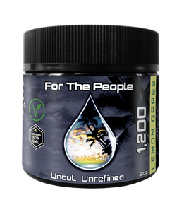 CBD FOR THE PEOPLE - Dark Unrefined Salve/Topical - 1,200mg