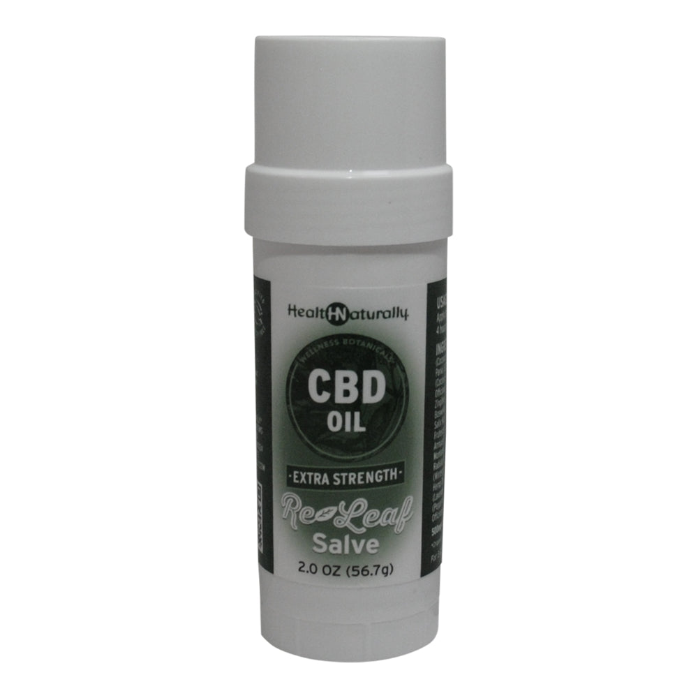 HEALTH NATURALLY - CBD Oil Extra Strength Re-Leaf Salve - 500mg