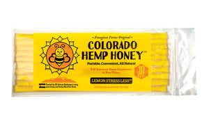COLORADO HEMP HONEY - Honey Sticks 10- Pack (Pick Your Flavor)