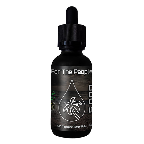 CBD FOR THE PEOPLE - Isolate Tincture (THC Free) 5,000mg