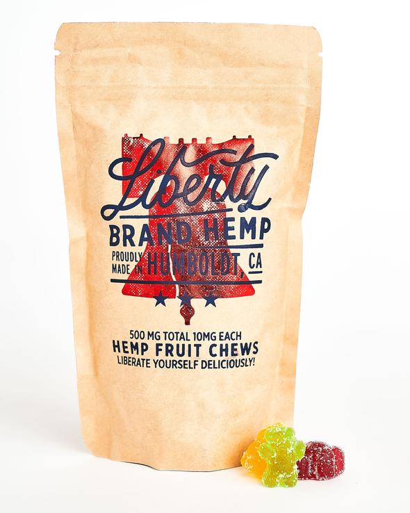 LIBERTY - 500mg CBD Hemp Fruit Chews