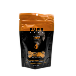 PUREKANA - Hemp Dog Treats - Small Dog - 50mg (Select Flavor)