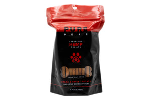 PUREKANA - Hemp Dog Treats - Large Dog (Select Flavor)