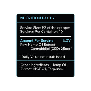 PureKana CBD Oil 1000mg/25mg | Full Spectrum CBD Oil (Select Flavor)