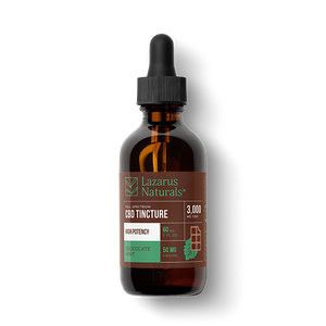 LAZARUS NATURALS - High Potency Full Spectrum CBD Tincture - Select Strength/Flavor