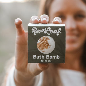 HEALTH NATURALLY - CBD Oil Re-Leaf Bath Bomb