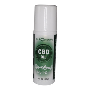 HEALTH NATURALLY- CBD Oil Re-Leaf Roll-On