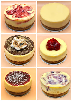 6 Pack - Cheesecakes