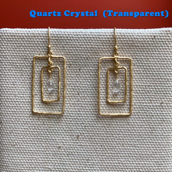 R. Rectangle Earring