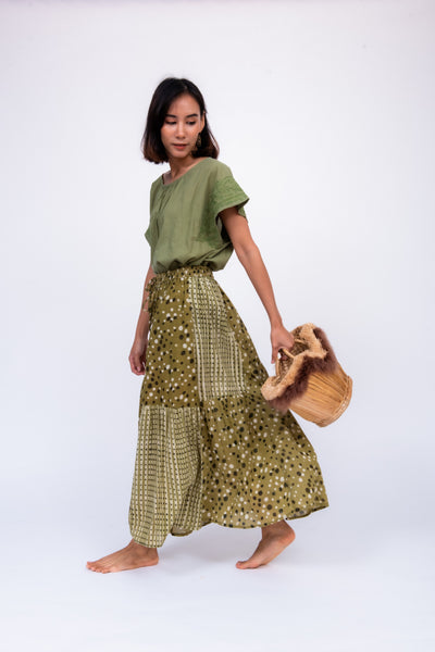 Rajasthan Patch Work Skirt