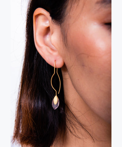 R. Hung Stone Earring