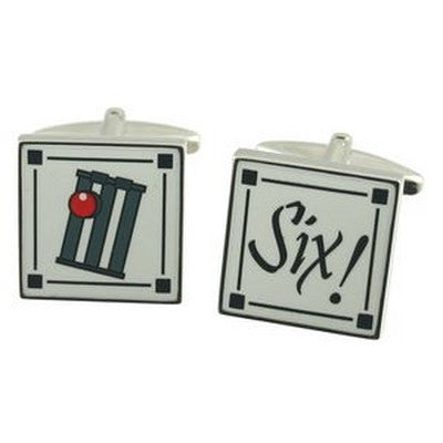cricket six cufflinks