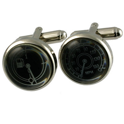 Speedo and Fuel Gauge Cufflinks