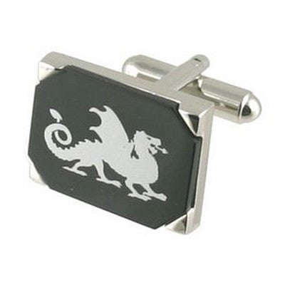 dragon onyx cufflinks