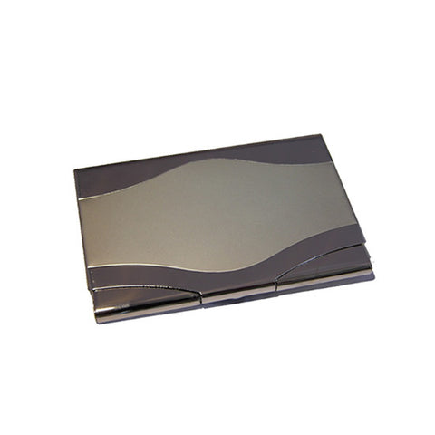 wave panel business card holder