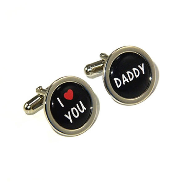 I Love You Daddy Cufflinks