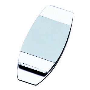 nickel plated matt money clip