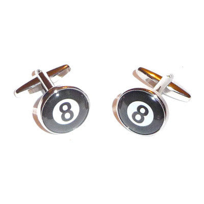 8 Ball Pool Players Cufflinks