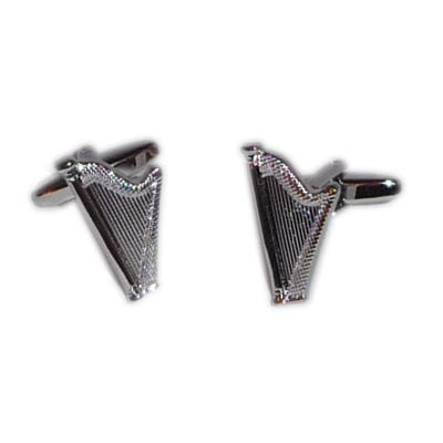 Beautiful Harp Cufflinks