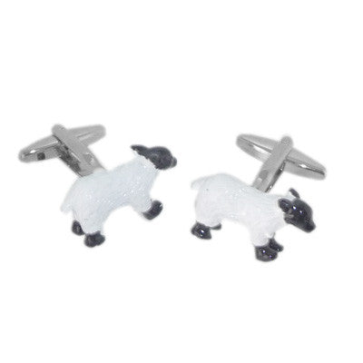 3D Sheep Cufflinks
