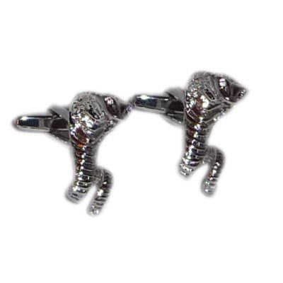 Striking Cobra Cufflinks