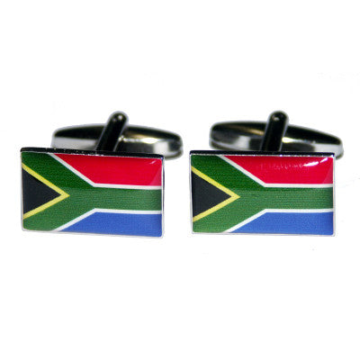 South Africa Flag Cufflinks
