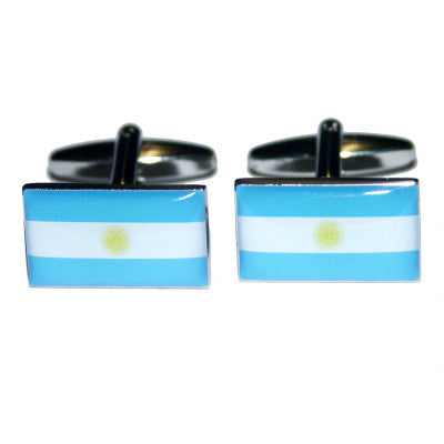 World Flag Cufflinks