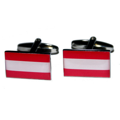 Austria Flag Cufflinks