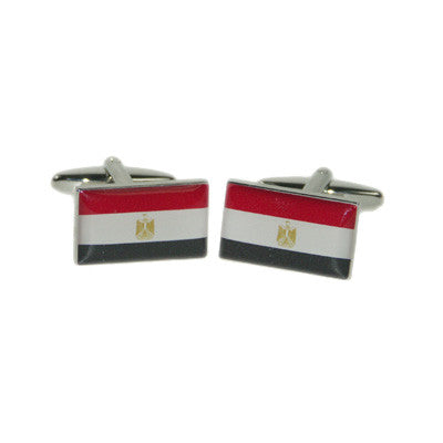 Egypt Flag Cufflinks
