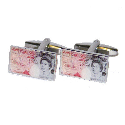 50 Pound Note Cufflinks